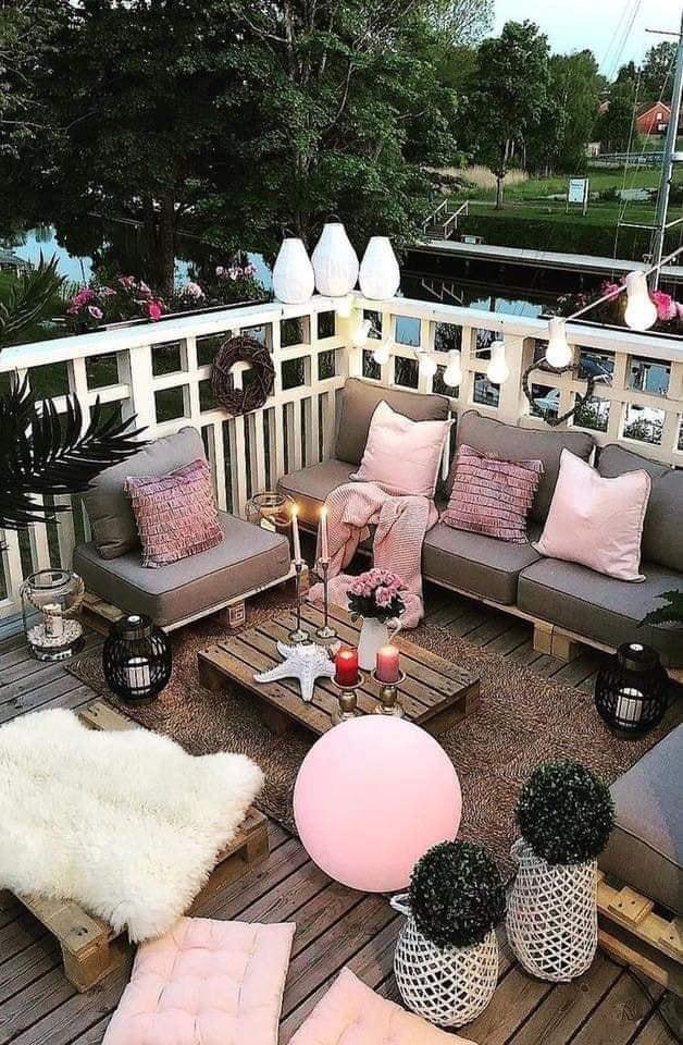 gorgeous balcony areas