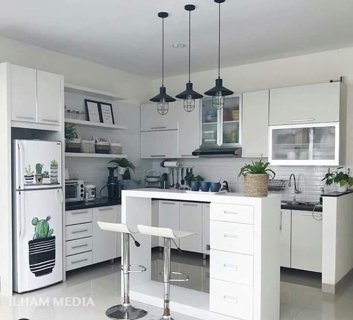 mini garden in kitchen place