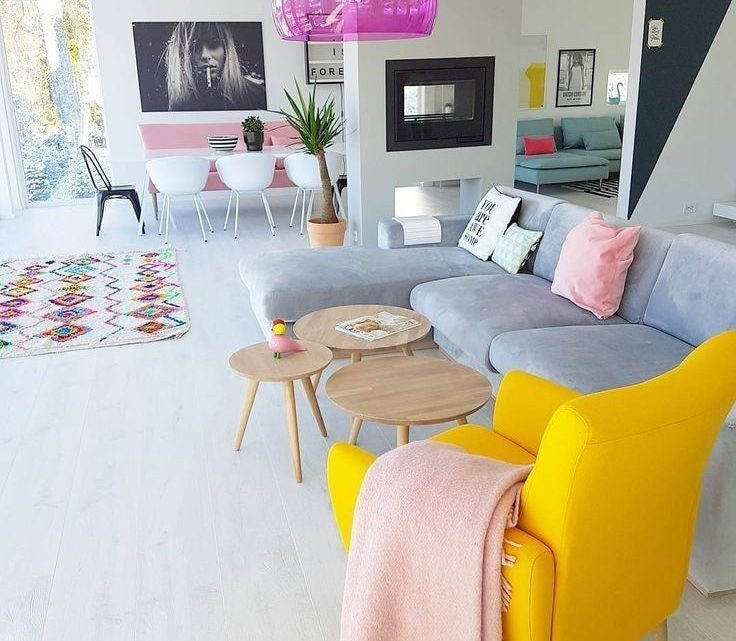 Vibrant Living Room Ideas