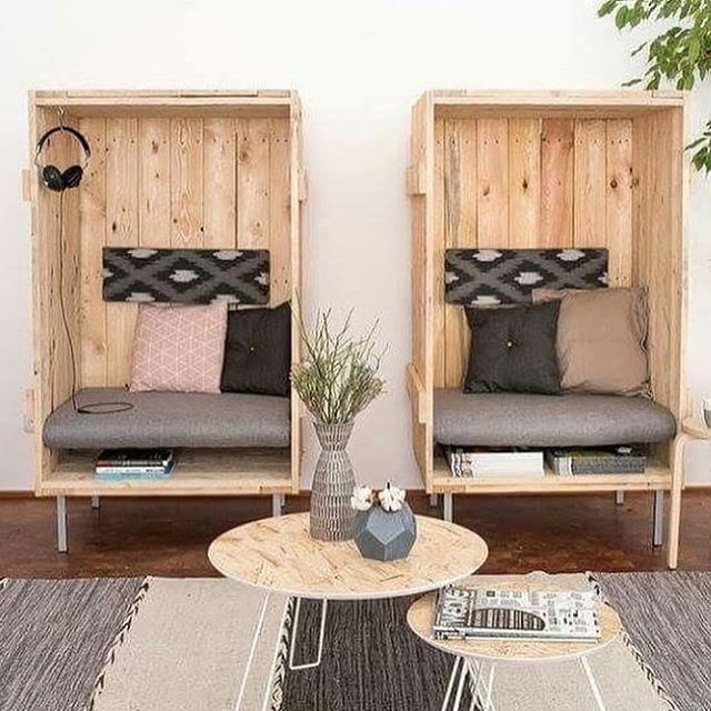 pallets lounge chairs