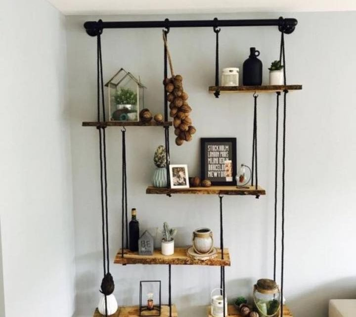 Unique Wall Shelves as Important Home Elements
