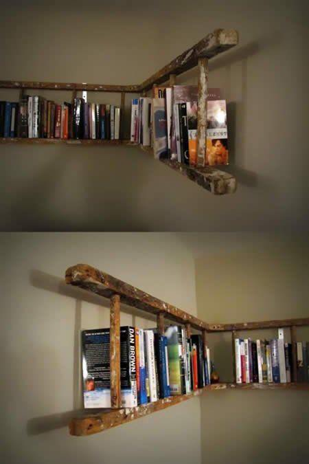 wooden ladder reuse