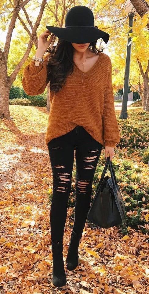 brown smokey clothes