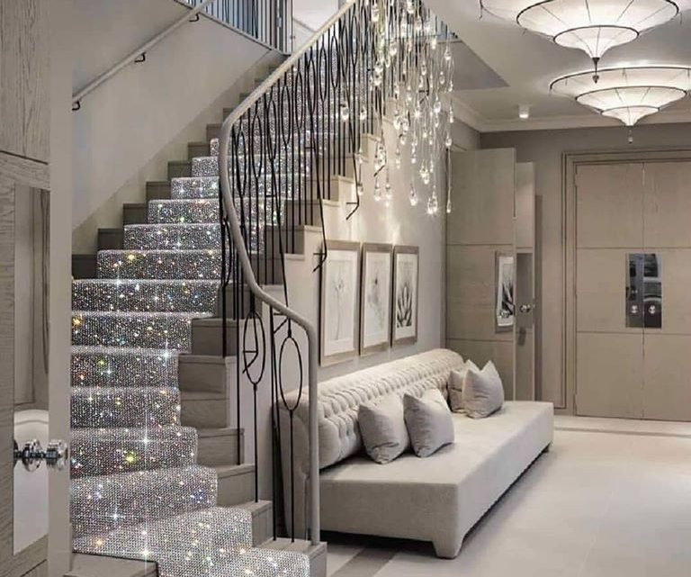 Scroll Down to See Unique Staircase Design