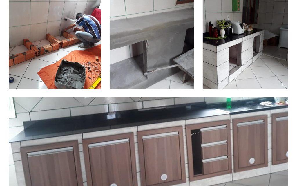 Impressive DIY Kitchen Cabinet