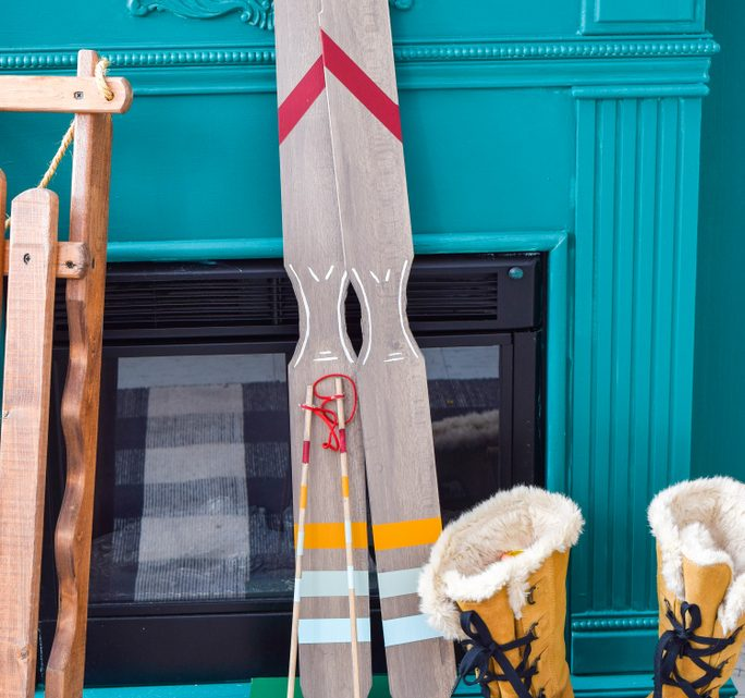 Making Skis From Recycled Materials