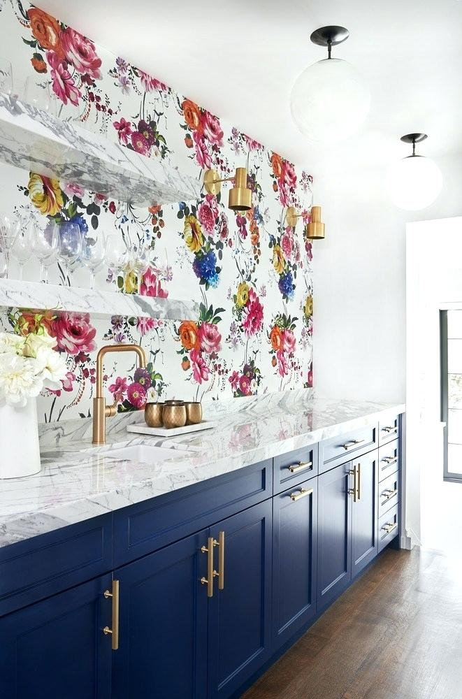 kitchen cabinet wallpapers