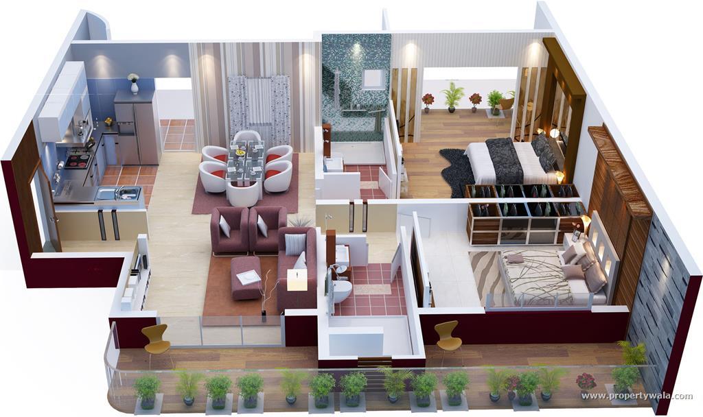 Phenomenal 3D Home Plans