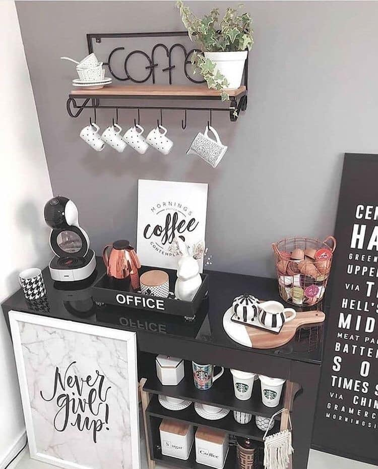 coffee shelves