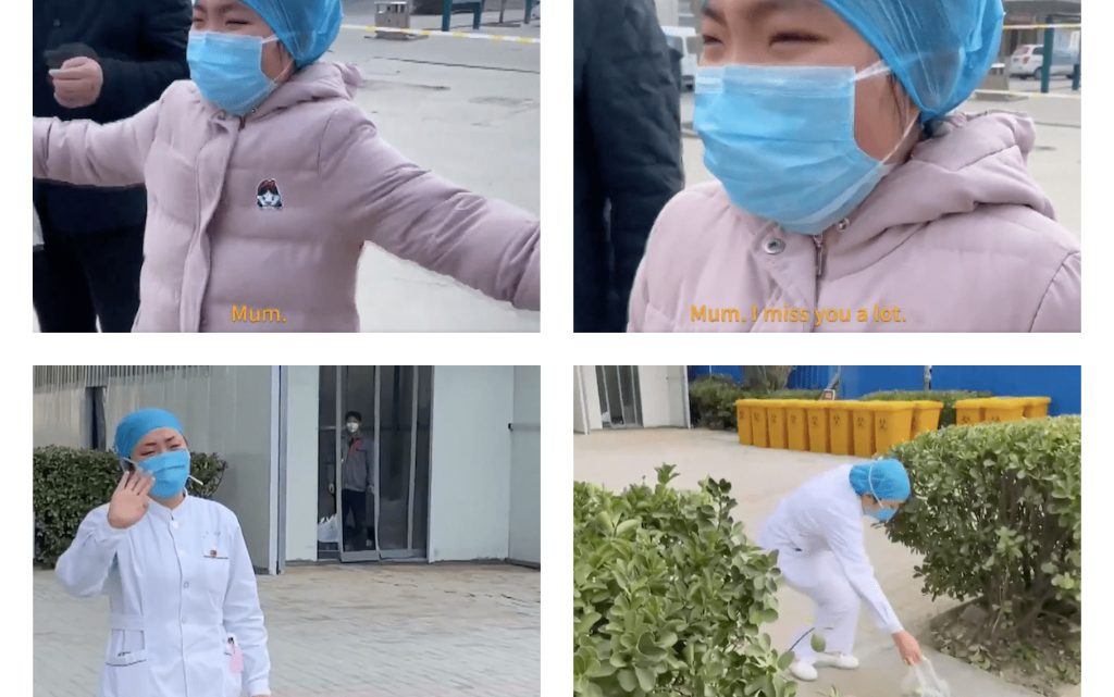 CORONAVIRUS: Mum is fighting monsters, – Says Chinese Nurse – Mother of 9-yeard-old Daughter