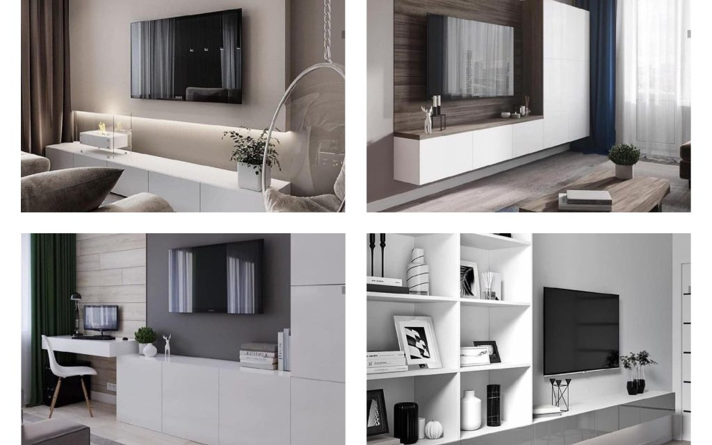 Elegant and Simple TV Units