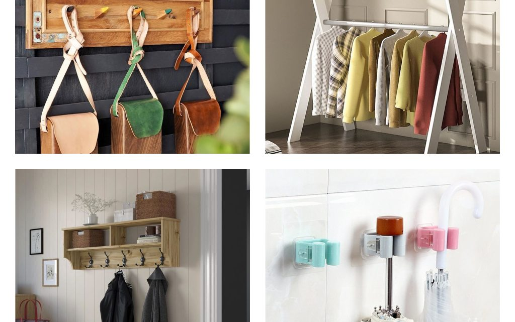 Fantastic Hangers for Entryway Walls