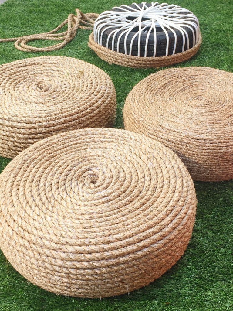 rope chairs