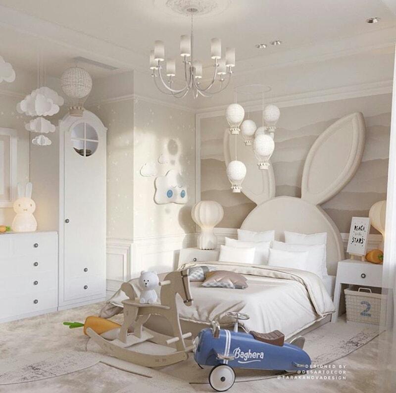 creative kid's rooms