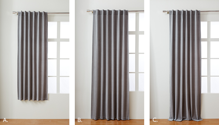 curtains lenght