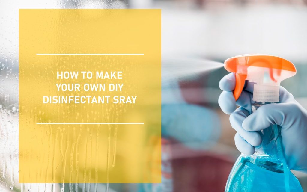 DIY Disinfectant Spray At Home