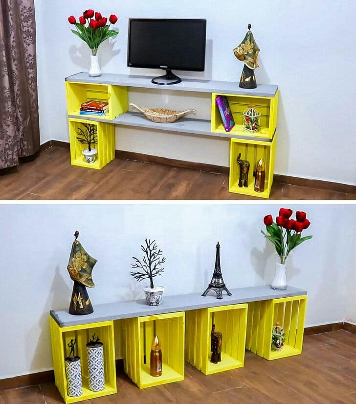 wooden crates recycling