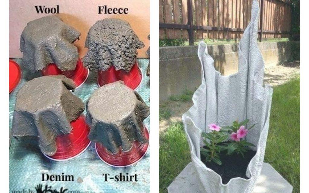 Magnificent DIY Cement Flower Pots