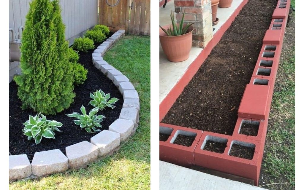 These are Perfect Garden Edging Ideas