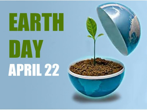 Happy Earth Day, 22 April