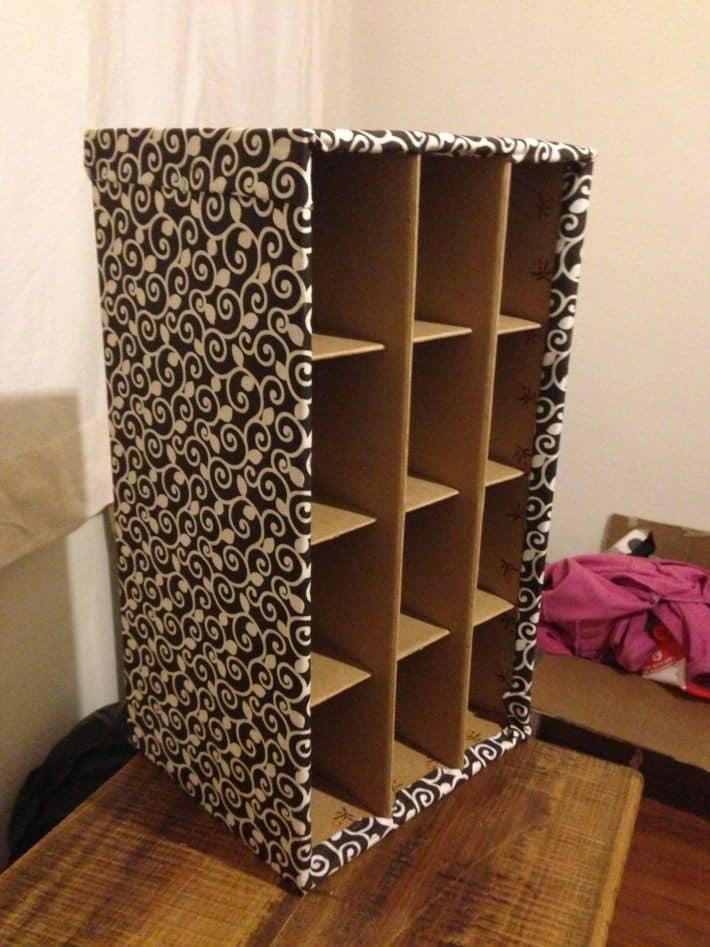 DIY cardboard project