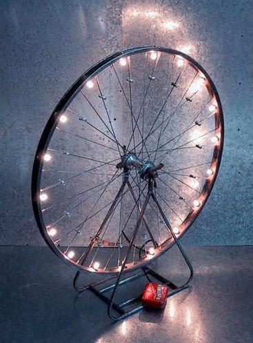 bike wheel reuses