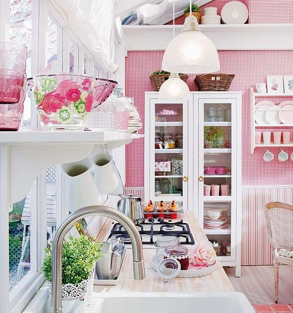 Impressive Kitchen Design Ideas With Spring Colors
