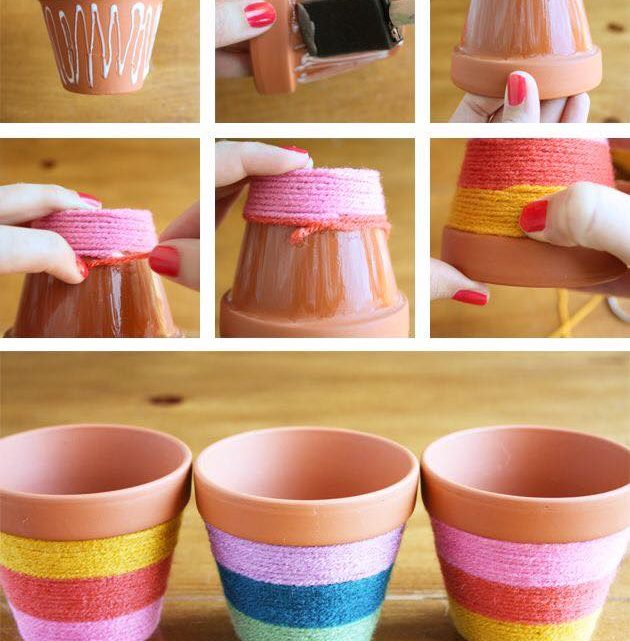 Beautifying Flower Pots Ideas