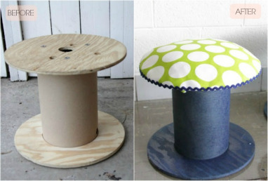cable reel reuse ideas