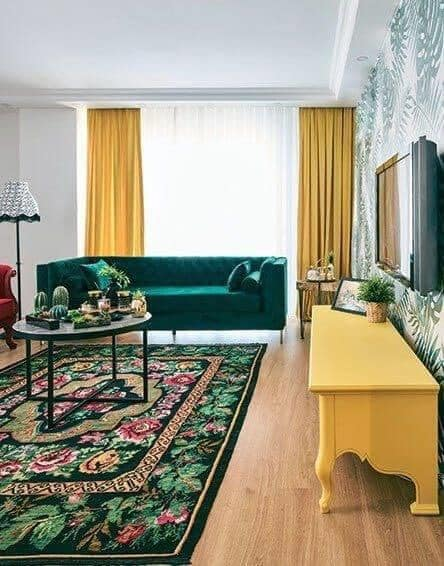 Interior Design With Yellow Shades