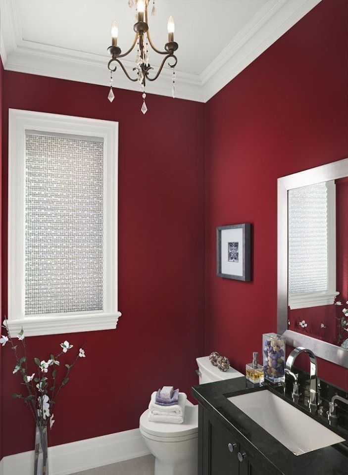 red wall color