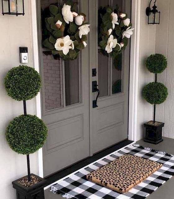 What a Beautiful Main Door Decor