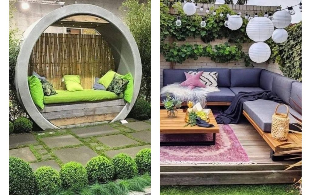 THESE Are The Most Urban Backyard Decorations