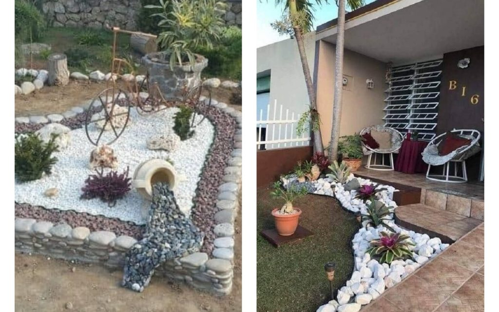 Try Decorating Garden With Rocks