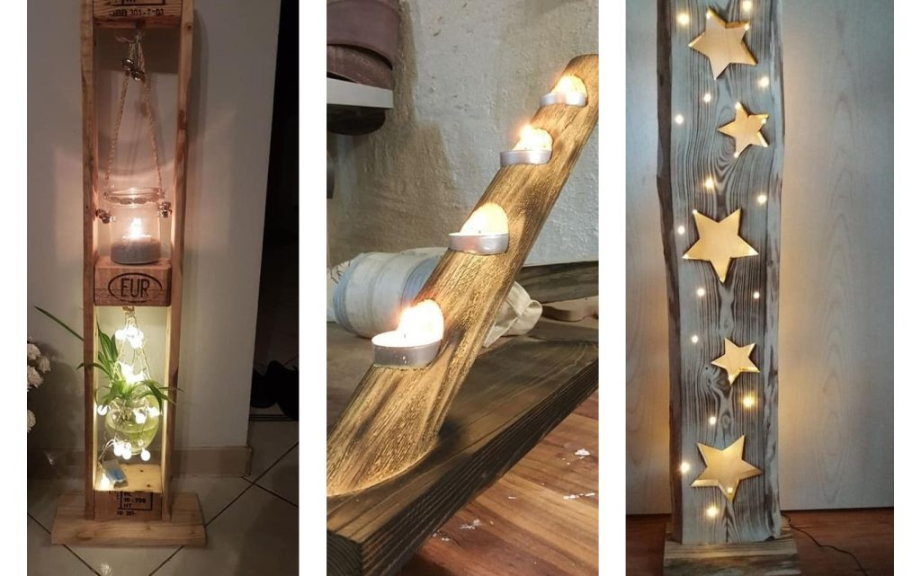 Enlight Home With Unique Wooden Lamps