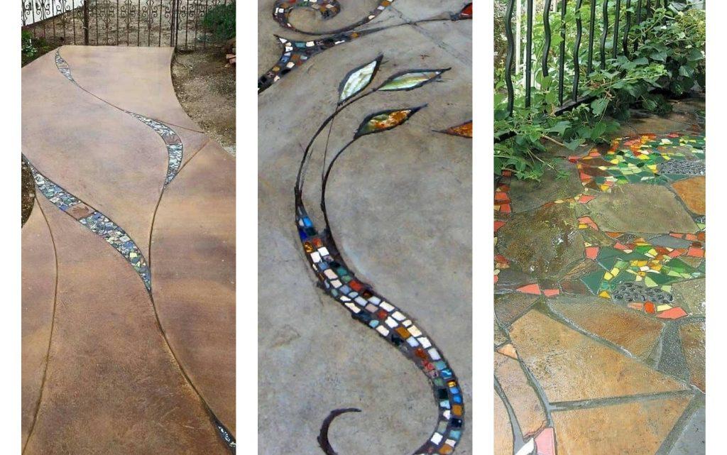 So Lovely Garden Mosaic Pathways