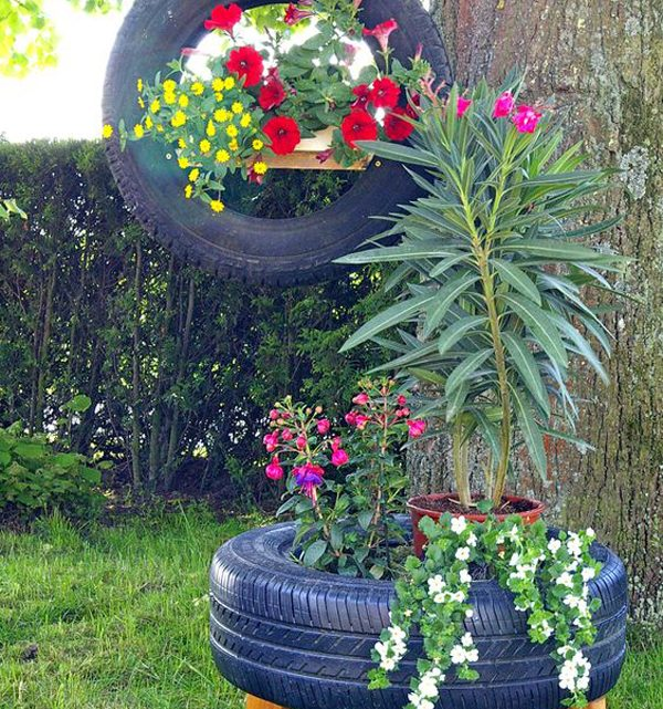 Reuse Old Tires – Don't Throw It