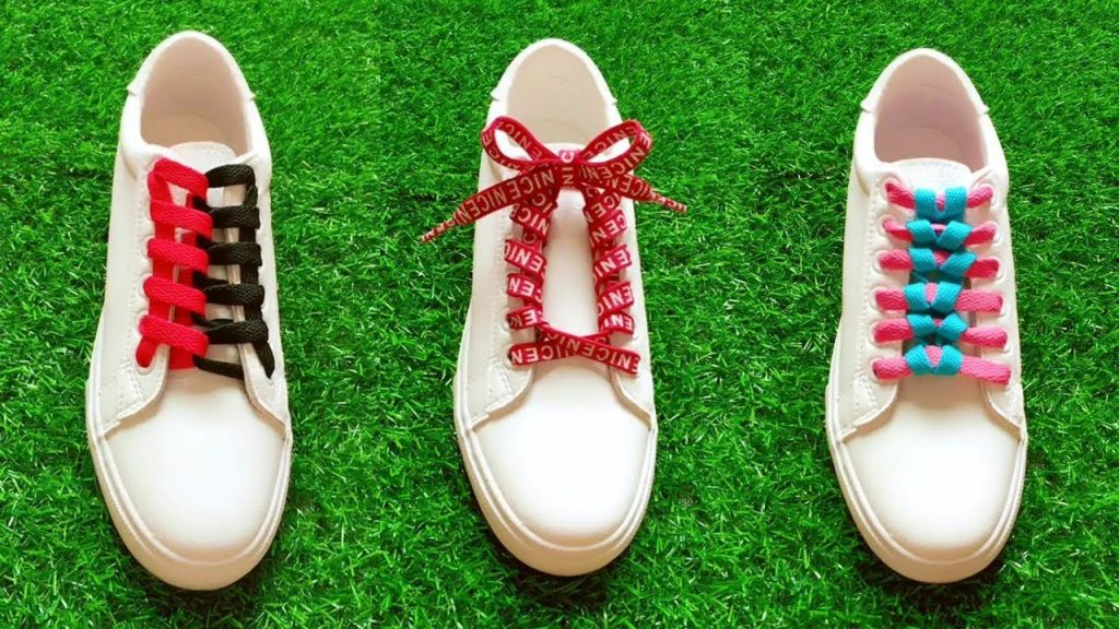 tie shoes laces