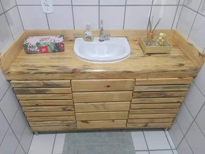 diy bath sink