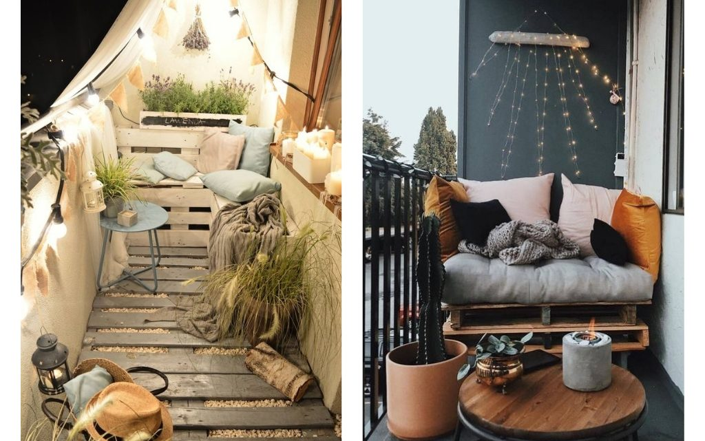 What About DIY Pallets Sofa For Your Balcony?