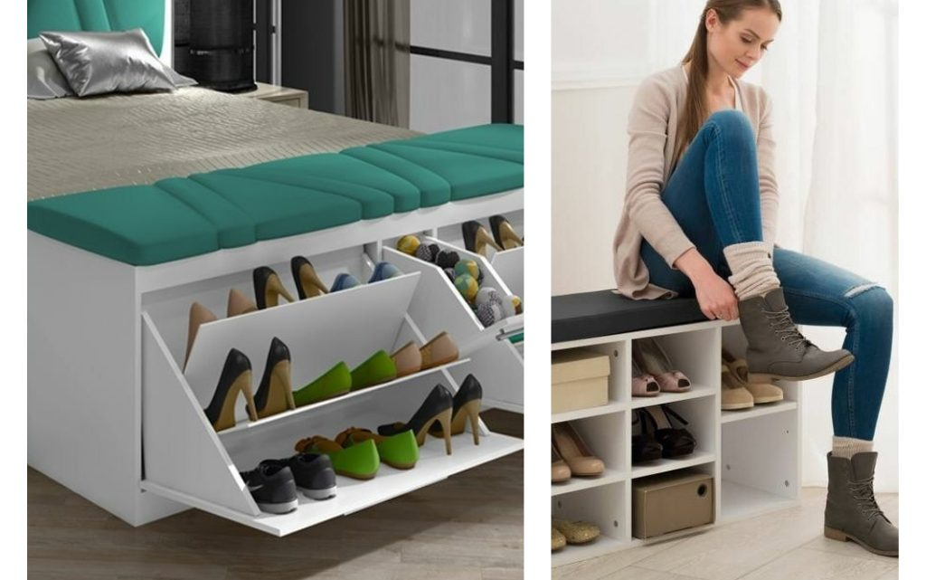 Take a Glimpse in Amazing Shoe Storage Ideas