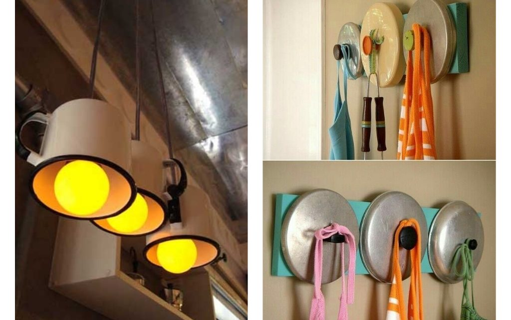 Fun Kitchen Tools Reuse Ideas