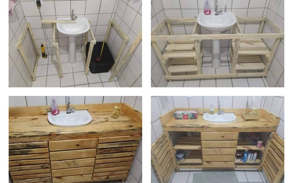 DIY Wooden Bath Sink for Your Bathroom