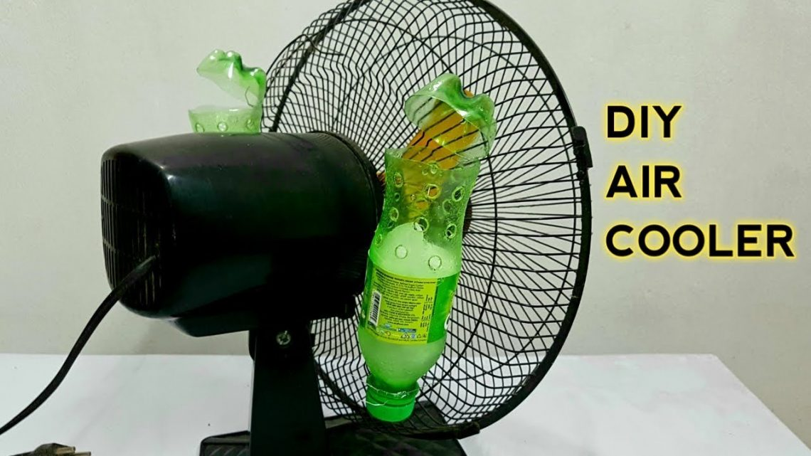 DIY Air Conditioner by Reusing Plastic Bottles
